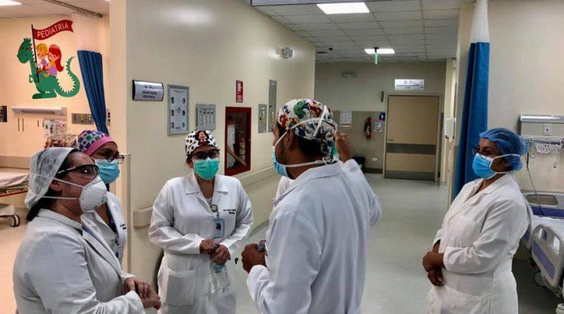 Soraya Cedeño, gerente del Hospital Dr. Verdi Cevallos Balda